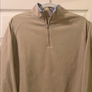 All -day Micro-fleece quarter zip. LIKE NEW